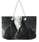 Thomas Young, English Polymath Weekender Tote Bag by Photo Researchers