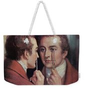 Thomas Young, English Polymath Weekender Tote Bag by Science Source