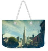 Those Sunny Downtown Days Weekender Tote Bag