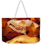 Three Animal Skulls Weekender Tote Bag