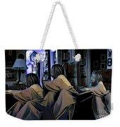 Girl Overtime Weekender Tote Bag