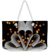 Three Hearts Weekender Tote Bag