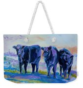 Three Mooges Weekender Tote Bag