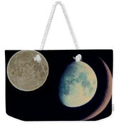 Three Moon Weekender Tote Bag