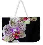 Three Orchids Weekender Tote Bag