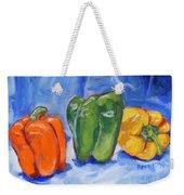 Three Peppers Weekender Tote Bag