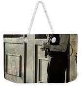 Three Rights Make A Left Weekender Tote Bag