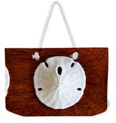 Three Sand Dollars Weekender Tote Bag