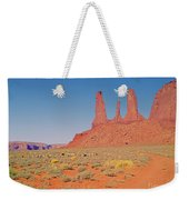 Three Sisters And Grazing Sheep Weekender Tote Bag