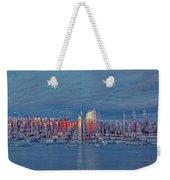 Three Times New York City Weekender Tote Bag