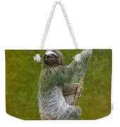 Three-toed Sloth Climbing Weekender Tote Bag