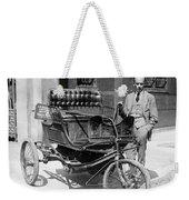 Three-wheel Automobile Weekender Tote Bag