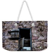 Three Windows Weekender Tote Bag