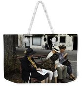 Three Women And The Man Weekender Tote Bag