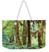 Through Moss Covered Trees Weekender Tote Bag