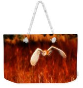 Through The Fire Weekender Tote Bag