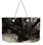 Through The Wall Bw Weekender Tote Bag