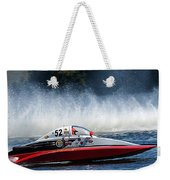 Thunder At The Lake Weekender Tote Bag