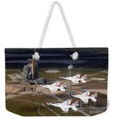 Thunderbirds Fly Past Endeavour Weekender Tote Bag