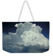 Thunderclouds And Rinbow Weekender Tote Bag