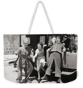 Thundering Taxi, 1933 Weekender Tote Bag