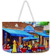 Ti Amo Restaurant Prince Arthur Street Montreal Weekender Tote Bag by Carole Spandau
