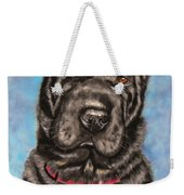 Tia Shar Pei Dog Painting Weekender Tote Bag