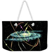 Tidal Disruption Of Dwarf Spheroidal Galaxies Weekender Tote Bag