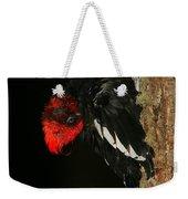 Tidying Up - Magellanic Woodpecker Preening Weekender Tote Bag