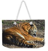 Tiger Behavior Weekender Tote Bag