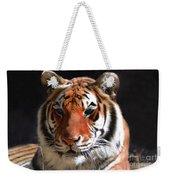 Tiger Blue Eyes Weekender Tote Bag