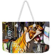 Tiger Carousel Ride Weekender Tote Bag