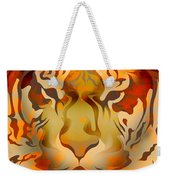Tiger Illustration Weekender Tote Bag