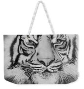 Tiger's Eyes Weekender Tote Bag
