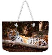 Tigress And Cubs Weekender Tote Bag