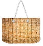 Tiled Wall Weekender Tote Bag