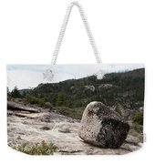 Tilted Rock Weekender Tote Bag