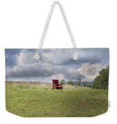 Time Alone Weekender Tote Bag by Betsy Knapp