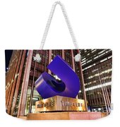 Time And Life Curved Cube Weekender Tote Bag