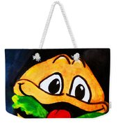 Time For A Happy Burger Weekender Tote Bag