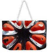 Orange And Black Art -time - Sharon Cummings Weekender Tote Bag