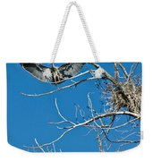 Time To Nest Weekender Tote Bag