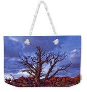 Timed Exposure Of Sunset Clouds Weekender Tote Bag