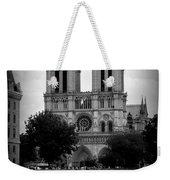 Timeless Notre Dame Weekender Tote Bag