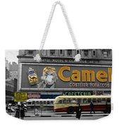 Times Square 1943 Weekender Tote Bag