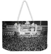 Times Square Election Crowds Weekender Tote Bag