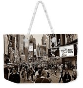 Times Square New York S Weekender Tote Bag