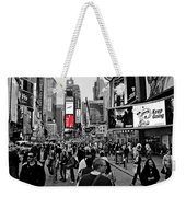 Times Square New York Toc Weekender Tote Bag