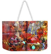 Times Square Reflections Weekender Tote Bag