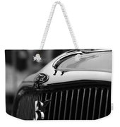 Timmis-ford V8 Greyhound Hood Ornament Weekender Tote Bag
